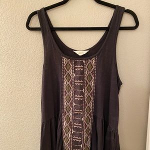 Sun and Shadow Tribal tank
